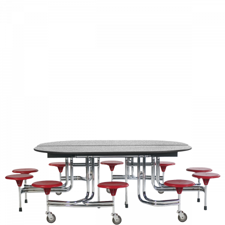 10-Seat Oval Tables