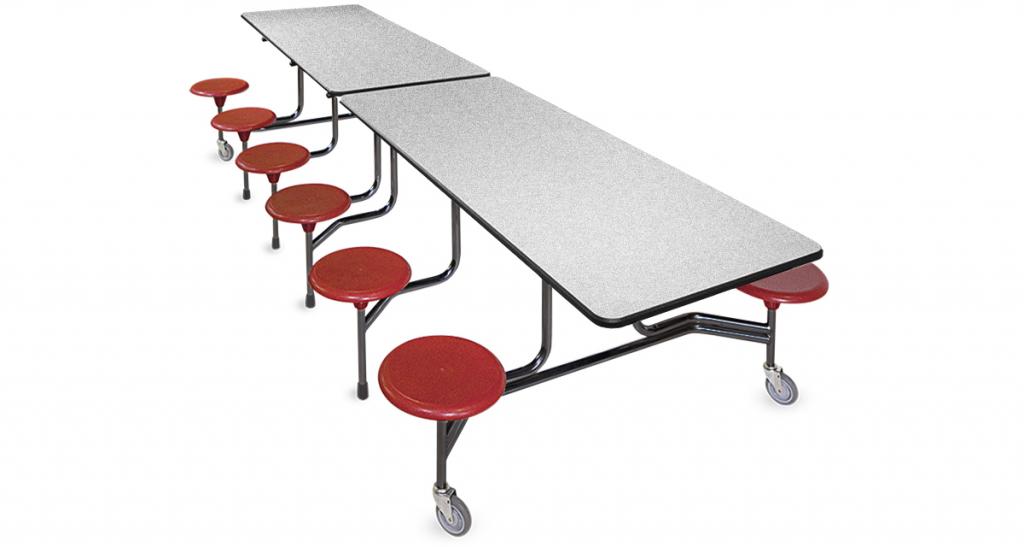 BioFit Tables Rectangular Stool Seating Table - The ADA-Compliant (12F4ADA32C)
