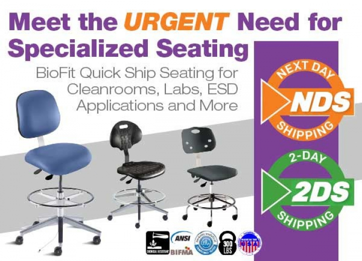 Meeting the Urgent Need for Specialized Laboratory and Technical Seating